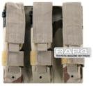 Triple Magazine Pouch for Tactical Vest (Urban Street Camo) for