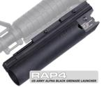 US Army Alpha Black Grenade Launcher (Long)