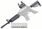 US Army Alpha Black M4 Carbine Kit (Marker NOT included)