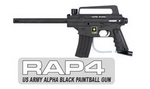 US Army Alpha Black Paintball Gun Basic
