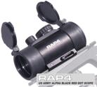US Army Alpha Black Red Dot Scope