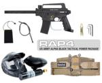 US Army Alpha Black Paintball Marker with Electronic Trigger Tac