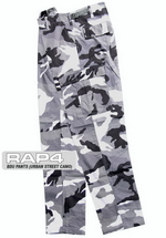 Urban Street Camo BDU Pants 2X Large