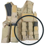 MP5 Magazine Pouch for Tactical Vest (Woodland)