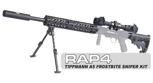 Frostbite Sniper Kit For TippmannR A 5R Marker NOT Incl RAP4268
