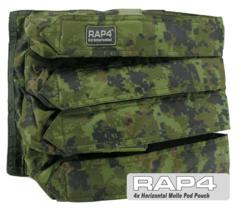 Horizontal 4x MOLLE Paintball Pod Pouch (CADPAT)