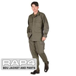BDU Jacket and Pants Package (Urban Street Camo)
