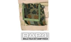 MOLLE Fold Out Dump Pouch (German Flecktarn)