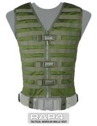Tactical MOLLE Vest (Olive Drab)