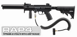 Tippmann® A-5® Stealth with eGrip Package