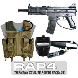 Tippmann® X7® Paintball Marker Elite Power Package