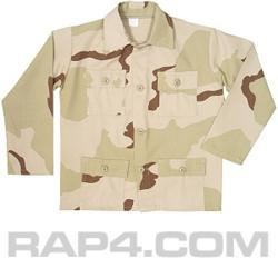Desert Camo BDU Jacket Medium