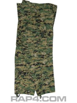 Digital Camo BDU Pants (MARPAT) Small