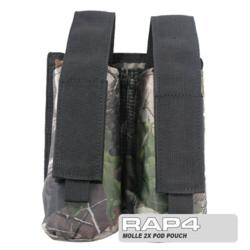 MOLLE 2X Pod Pouch for Tactical Vest (Realtree)