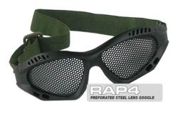 RAP4 Airsoft Perforated Steel Lens Goggle (Black)