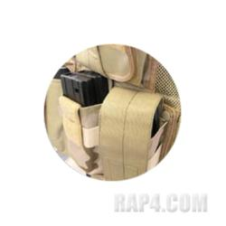 M4/M16 Magazine Pouch for Tactical Vest (Tiger Stripe)