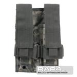 MOLLE 2X MP5 Magazine Pouch for Tactical Vest (ACU)