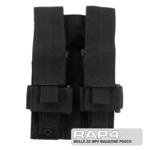 MOLLE 2X MP5 Magazine Pouch for Tactical Vest (Black Color)