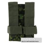 MOLLE 2X MP5 Magazine Pouch for Tactical Vest (CADPAT)