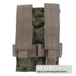 MOLLE 2X MP5 Magazine Pouch for Tactical Vest (Desert Camo)