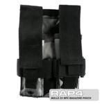 MOLLE 2X MP5 Magazine Pouch for Tactical Vest (Urban Street Camo
