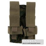 MOLLE 2X MP5 Magazine Pouch for Tactical Vest (Digital Camo)