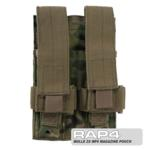 MOLLE 2X MP5 Magazine Pouch for Tactical Vest (Eight Color Deser