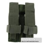 MOLLE 2X MP5 Magazine Pouch for Tactical Vest (Olive Drab)