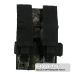 MOLLE 2X MP5 Magazine Pouch for Tactical Vest (Realtree)