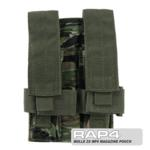 MOLLE 2X MP5 Magazine Pouch for Tactical Vest (Tiger Stripe)