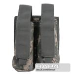 MOLLE 2X Pod Pouch for Tactical Vest (ACU)