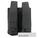 MOLLE 2X Pod Pouch for Tactical Vest (Black Color)