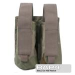 MOLLE 2X Pod Pouch for Tactical Vest (Desert Camo)
