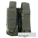 MOLLE 2X Pod Pouch for Tactical Vest (British Disruptive Pattern