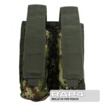 MOLLE 2X Pod Pouch for Tactical Vest (Italian Camo)