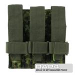 MOLLE 3X MP5 Magazine Pouch for Tactical Vest (CADPAT)