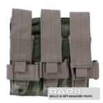 MOLLE 3X MP5 Magazine Pouch for Tactical Vest (Desert Camo)