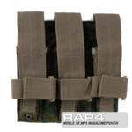 MOLLE 3X MP5 Magazine Pouch for Tactical Vest (Digital Camo)