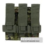 MOLLE 3X MP5 Magazine Pouch for Tactical Vest (Italian Camo)