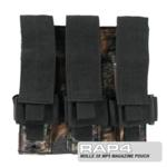 MOLLE 3X MP5 Magazine Pouch for Tactical Vest (Mossy Oak)