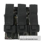 MOLLE 3X MP5 Magazine Pouch for Tactical Vest (Realtree)
