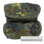 MOLLE Utility Pouch for Tactical Vest (German Flecktarn)
