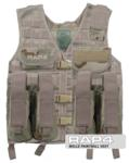 MOLLE Paintball Vest (Desert Camo)