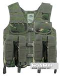 MOLLE Paintball Vest (British Disruptive Pattern Material - DPM)