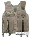 MOLLE Paintball Vest (Eight Color Desert Camo)