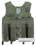 MOLLE Paintball Vest (German Flecktarn)