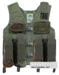 MOLLE Paintball Vest (Woodland Camo)