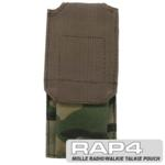MOLLE Radio/Walkie Talkie Pouch (Eight Color Desert Camo)