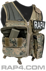 Utility Pouch for Tactical Vest (Digital)