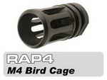 Black Metal M4 Bird Cage Muzzle